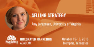 Selling Strategy with Amy Jorgensen